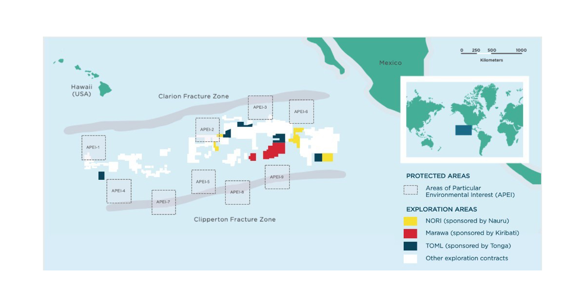 DeepGreen Acquires Tonga Offshore Mining Limited
