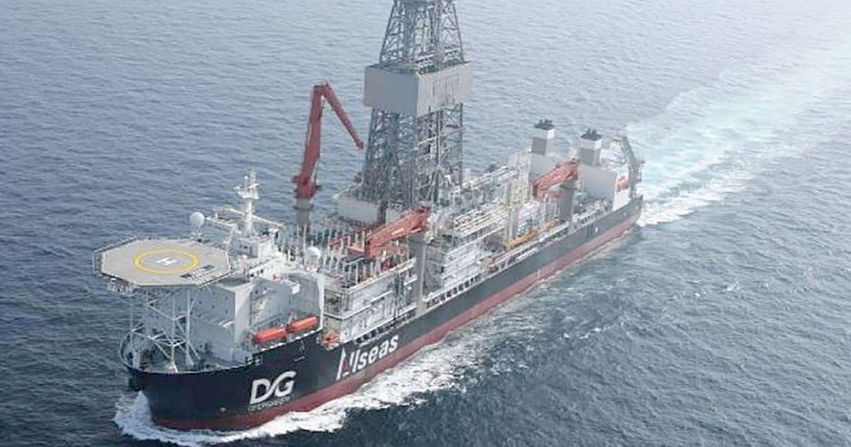 Allseas is Converting this Drillship into a Polymetallic Nodule Collection Vessel