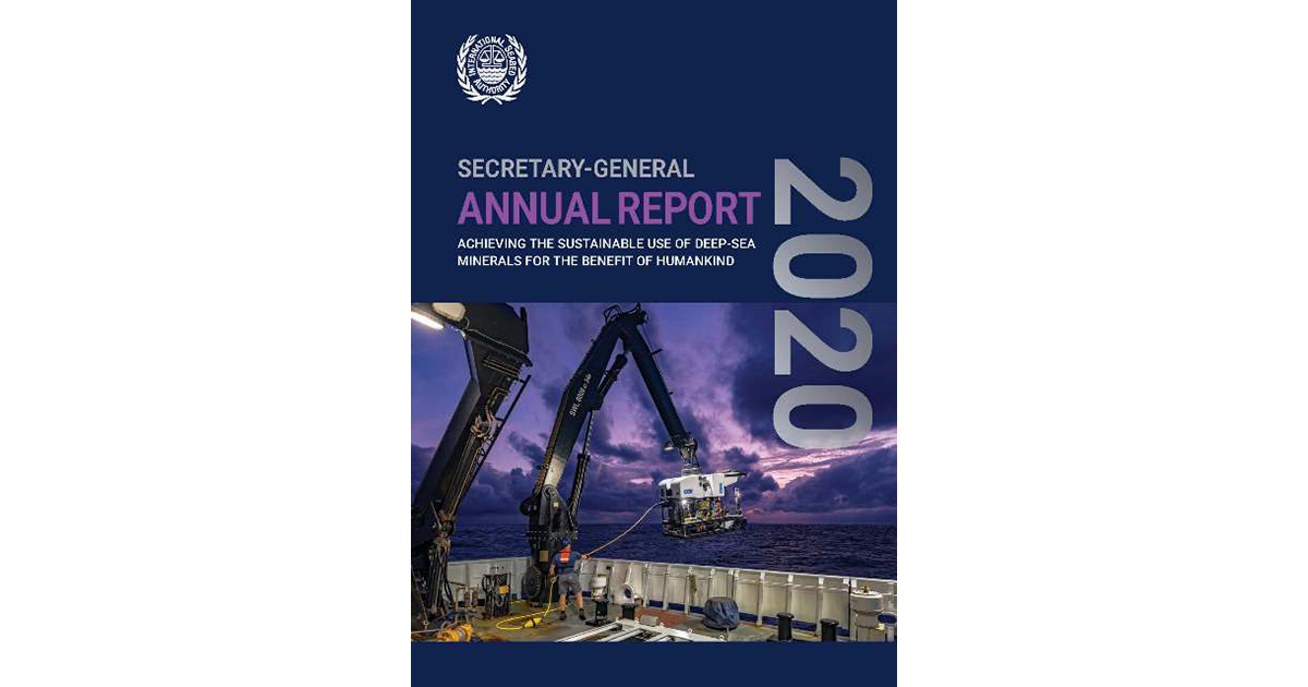 Launch of the International Seabed Authority Secretary-General Annual Report 2020